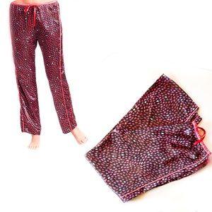 Betsey Johnson Heart Lounge Pants